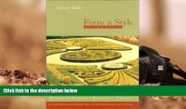 Kindle eBooks  Form And Style, Eleventh Edition (Form and Style, 11th ed)  BEST PDF