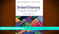 Kindle eBooks  InterViews: Learning the Craft of Qualitative Research Interviewing PDF [DOWNLOAD]