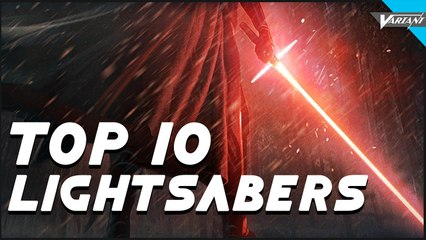 Top 10 Coolest Lightsabers!