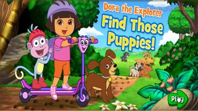 Dora the Explorer Games: Puppies Nick Jr. PLAY for Kids