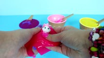 LEARN COLORS WITH SLIME + Kids Slime Surprise Toys Marvel Avengers Iron Man MLP Peppa Pig DSE