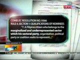 BT: Mga dating drug addict at alcoholic,   binubuo ng party-list para sa 2013   elections