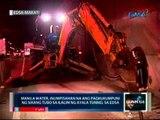 Manila water, inumpisahan na ang pagkukumpuni ng sirang tubo sa ilalim ng Ayala tunnel sa EDSA