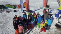 World Snowkite Masters  Alpe d'Huez janvier 2016