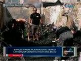 Saksi: Mahigit 70 pamilya, nawalan ng tirahan sa sunog na umabot sa task force bravo