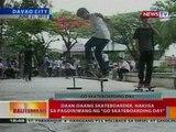 BT: Daan-daang skateboarder sa Davao, nakiisa sa pagdiriwang ng 'Go Skateboarding Day'