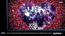 """VTEP: Anthony Kavanagh """"agresse"""" une femme du public pour un baiser, malaise sur le plateau (Vidéo)"""