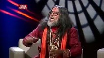 swami om fight at News nation studio __ women slap swami om __ swami om beaten to death
