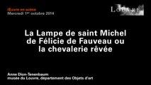 La lampe de saint Michel de Félicie de Fauveau ou la chevalerie rêvée