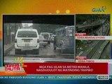 UB: Mga pag-ulan sa Metro Manila, nagdudulot ng matinding trapiko