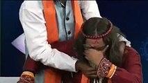 Swami Om Throw Glass On Anchor _ Fight in Studio _ Anchor SLAP swami om