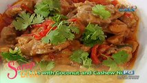 Sarap Diva: Chicken with Coconut and Cashew Nuts
