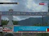 BP: 10 bata sa Ilocos Norte, naospital dahil sa typhoid fever