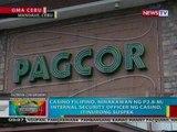 BP: Casino Filipino sa Cebu, ninakawan ng P2.8-M
