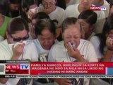 NTL: Pamilya Marcos, hihilingin sa korte na magbaba ng HDO sa mga nasa likod ng hazing ni Marc Andre