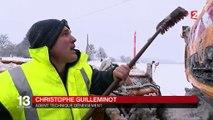 Intempérie : l'est de la France sous la neige