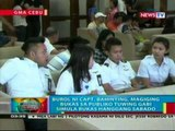 Video BP: Burol ni Capt. Bahinting, magiging bukas sa publiko tuwing gabi simula bukas hanggang Sabado