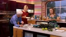 Phil eats roadkill - fox meat - on This Morning 22nd October 2013