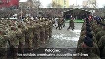 Otan: les soldats américains accueillis en héros en Pologne