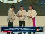 Saksi: Mga programa ng GMA at GMA News TV, binigyang-parangal sa 34th Catholic Mass Media Awards