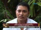 24 Oras: Jake Vargas at kanyang pamilya, kinikilan umano ng P200,000 ng mga nagpakilalang pulis