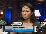 Saksi: Indie actress Angeli Bayani, nanlaban sa holdaper