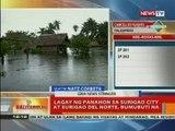 BT: Lagay ng panahaon sa Surigao City at Surigao del Norte, bumubuti na