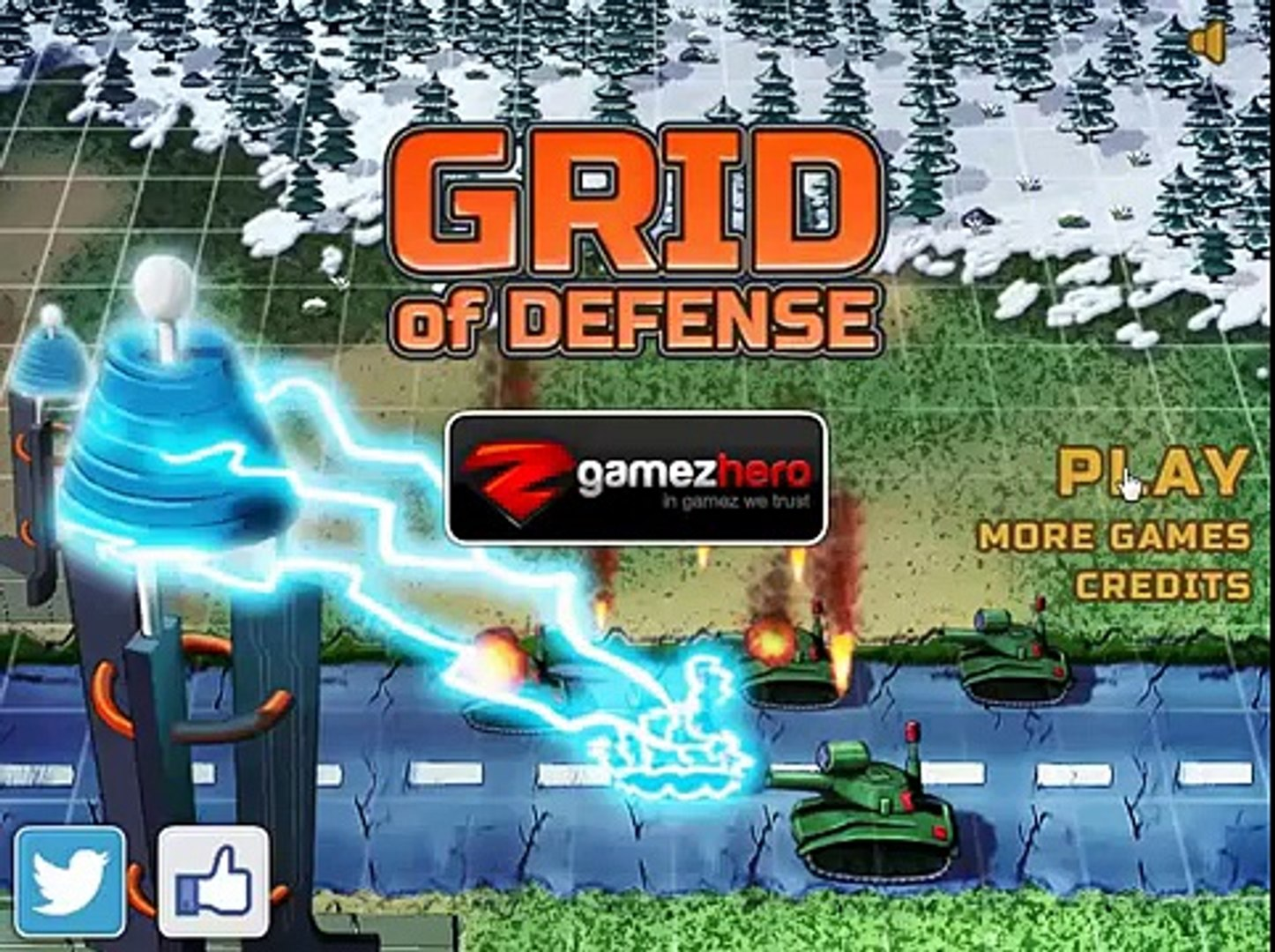Стратегия защиты - Grid of Defense