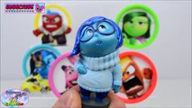 Learn Colors Disney Pixar Inside Out Play Doh Disney Cars Toys Surprise Egg and Toy Collector SETC