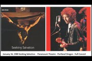 January 16, 1980 Bob Dylan Seeking Salvation -  Paramount Theatre - Portland Oregon - Full Concert  Part 2