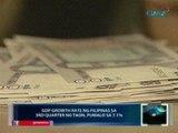 Saksi: 3rd quarter GDP growth rate ng Pilipinas, pumalo sa 7.1%