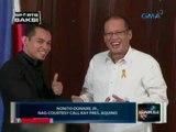 Saksi: Nonito Donaire Jr., nag-courtesy call kay Pres. Aquino