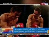 NTG: Nonito Donaire, Jr., pinabagsak ang Mehikanong si Jorge Arce sa 3rd round