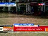 BT: Ilang probinsya sa Visayas, hinagupit ng bagyong Quinta