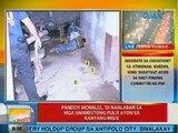 UB: Pandoy Morales, 'di nanlaban sa mga umarestong pulis ayon sa kanyang misis