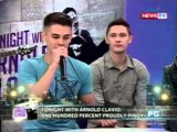 Tonight with Arnold Clavio: Ang half-Pinoy models na proud na proud sa kulturang Pinoy