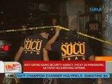 UB: May-ari ng isang security agency, patay sa pamamaril sa tapat ng kanyang opisina (Quezon City)