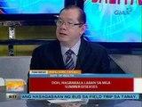 UB: Lagnat, pag-ubo at hirap sa paghinga, kabilang sa mga sintomas ng novel coronavirus