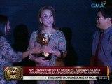 24 Oras:  Mel Tiangco at Vicky Morales, kabilang sa mga pinarangalan sa Edukcircle MOPIP TV Awards