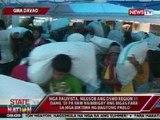 SONA: Bodega ng saku-sakong bigas sa DSWD Region 11, tinangay ng mga raliyista