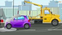 Grúa - Coches y camiónes - Videos para niños - Carros para niños - Camiónes infantiles