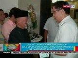 BP: DILG Sec. Roxas, nakipagpulong kay Sulu Sultan Bantilan Esmail Kiram