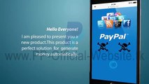 Paypal Money Adder + Proof - video dailymotion
