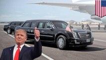 Mobil presiden 'The Beast' mendapatkan upgrade untuk peresmian Trump - Tomonews