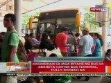 BT: Karamihan sa mga biyahe ng bus sa Araneta Center bus terminal, fully-booked na