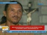 UB: Mga magpapapako sa krus sa San Pedro Cutud sa Biyernes Santo, naghahanda na