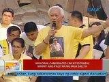 UB: Mayoral candidates Lim at Estrada, mainit ang palitan ng mga salita