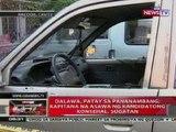 QRT: 2, patay sa pananambang sa Bacoor, Cavite