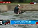 BP: Iba't ibang water sports sa Davao at Danao City, Cebu, dinarayo