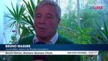 Primaire à gauche : Pour Bruno Masure, Benoît Hamon ''prend les électeurs par le bon côté'' (Exclu Vidéo)